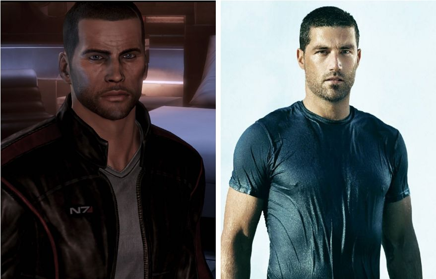 Commander Shepard (Mass Effect) - Matthew Fox