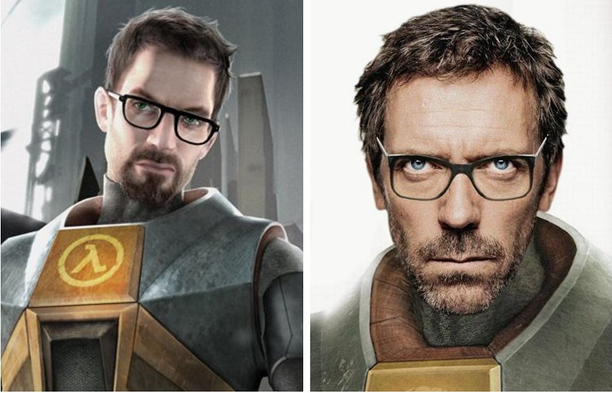 Gordon Freeman (Half-Life) - Hugh Laurie
