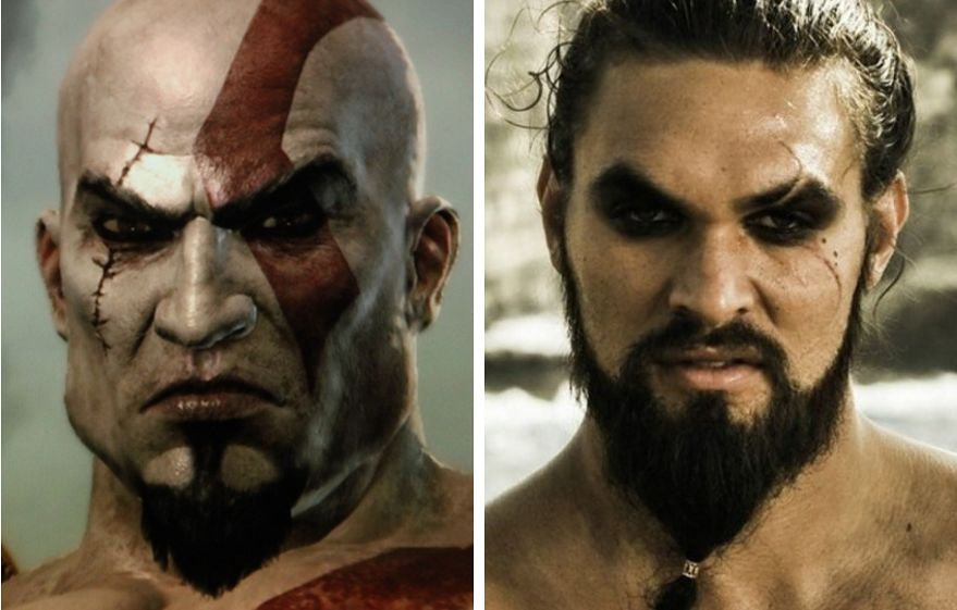 Kratos (God of War) - Jason Momoa